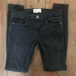 Current/Elliot Black Skinny Jeans